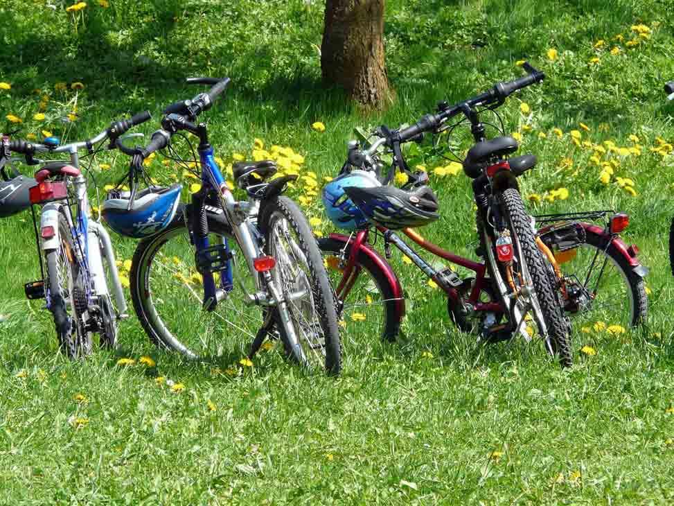 Fahrradfahren im Urlaub